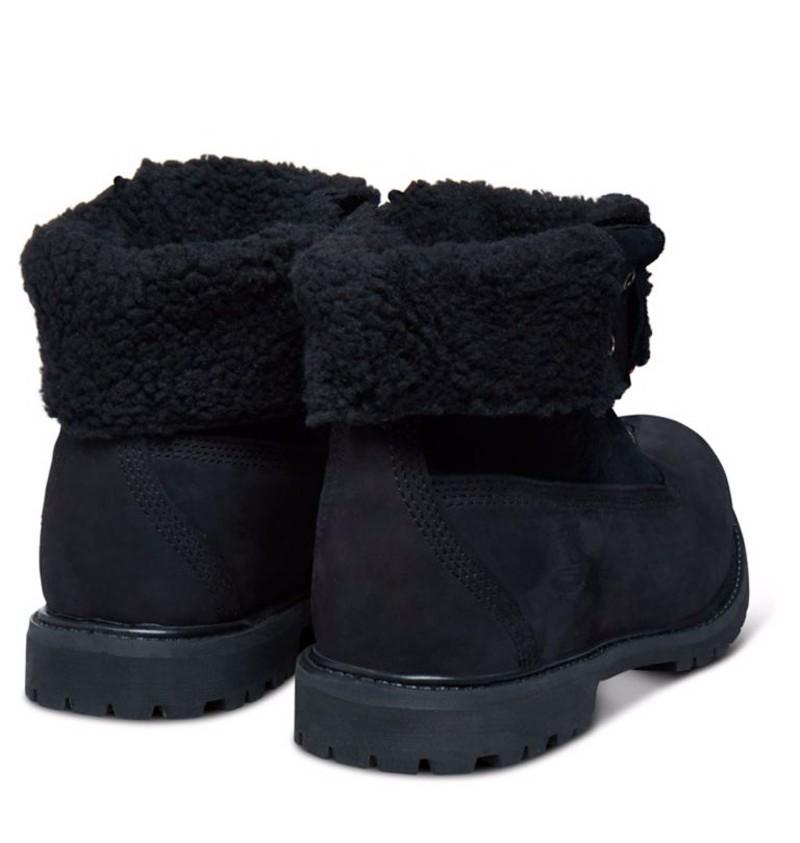timberland teddy fleece noir femme