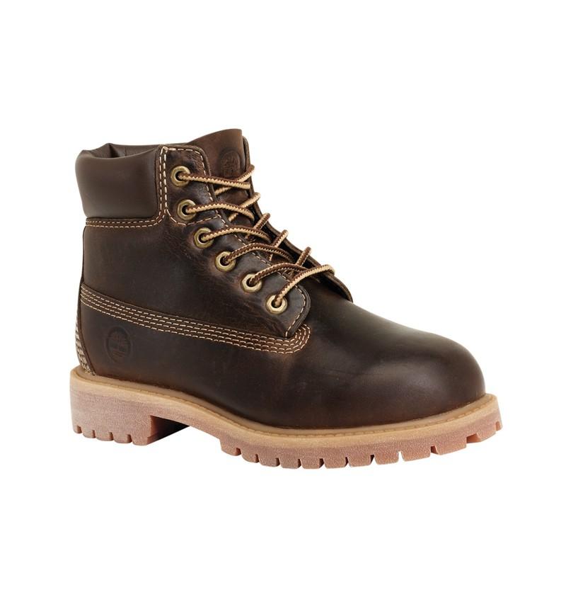 b8189ca54358d Timberland 6-inch Premium WP Boot Enfant - 80703 - Marron